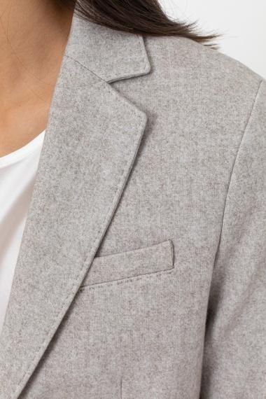 Light grey jacket for woman CIRCOLO 1901 F/W 21-22