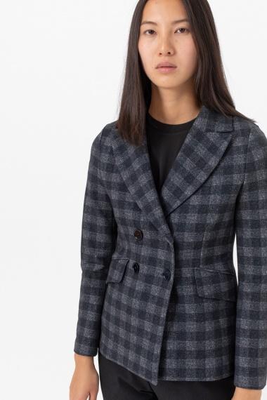 Dark grey jacket for woman CIRCOLO 1901 F/W 21-22