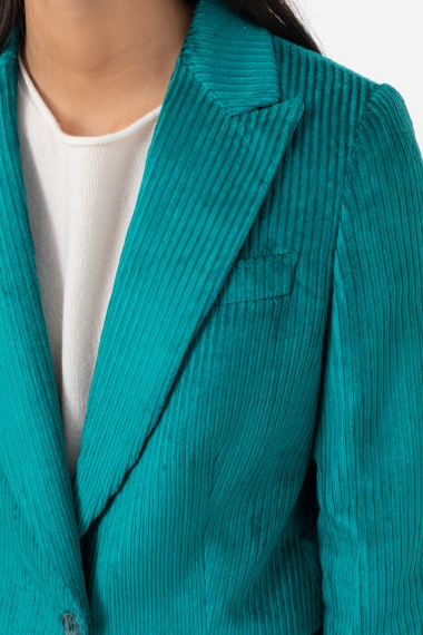 Emerald jacket for woman BRIAN DALES F/W 21-22