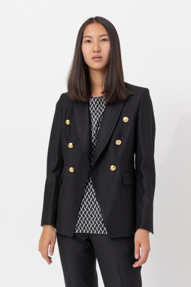 Black jacket for woman BRIAN DALES F/W 21-22