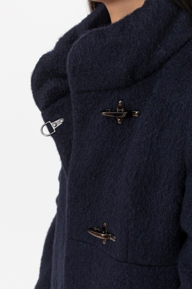 Dark blue coat for woman FAY F/W 21-22