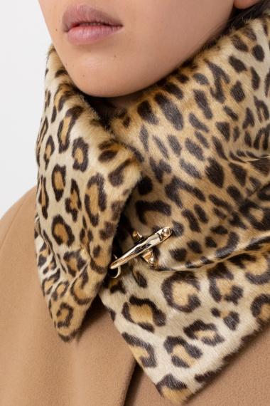 Animalier neck warmer for woman FAY F/W 21-22