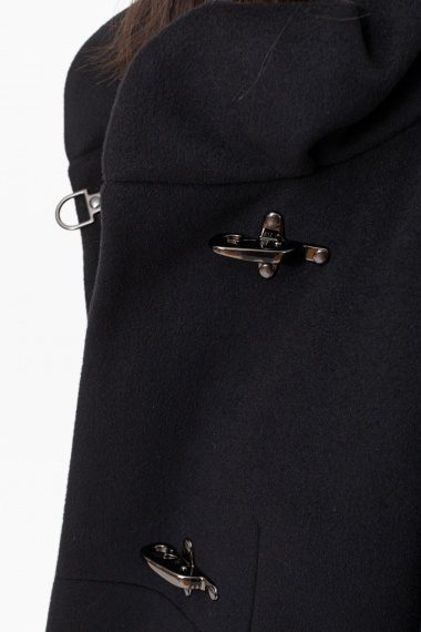 Black coat for woman FAY F/W 21-22