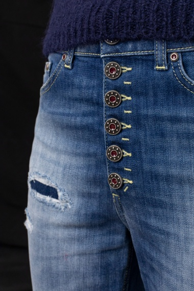 Jeans cropped for woman DONDUP F/W 21-22
