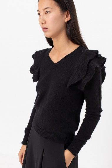 Black pullover for woman DONDUP F/W 21-22