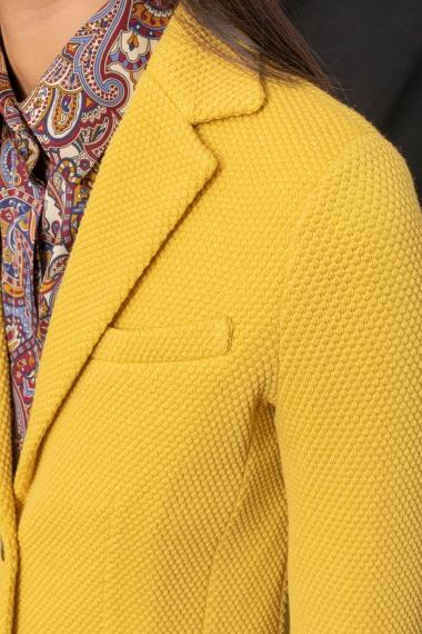 Yellow jacket for woman CIRCOLO 1901 F/W 21-22