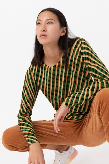 Stripes pullover for woman IN BED WITH YOU F/W 21-22
