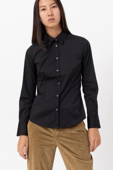 Black shirt for woman CAMICETTASNOB F/W 21-22