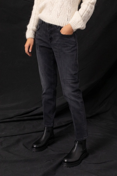 Black jeans for woman DON THE FULLER F/W 21-22
