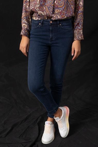 Dark denim jeans for woman DON THE FULLER F/W 21-22