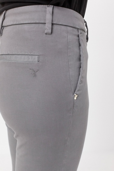 Light grey trousers for woman RE-HASH F/W 21-22