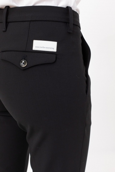 Black trousers for woman NINE IN THE MORGNING F/W 21-22