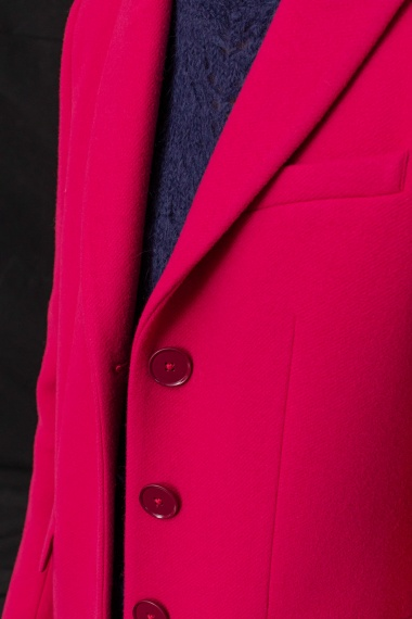 Fucsia coat for woman DONDUP F/W 21-22