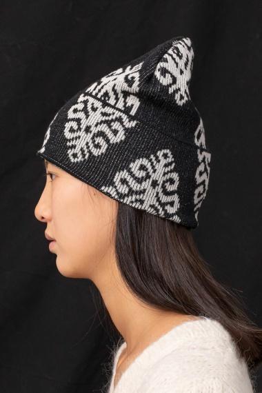 Black cap for woman DONDUP F/W 21-22