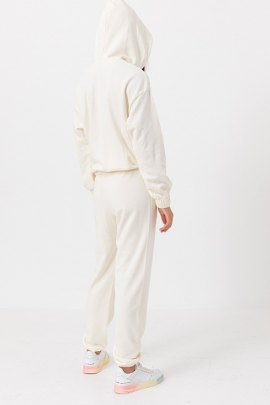White trousers for woman SUN68 F/W 21-22