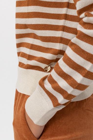 Stripes pullover for woman SUN68 F/W 21-22