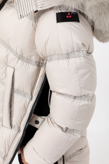 Stucco down jacket for woman PEUTEREY F/W 21-22