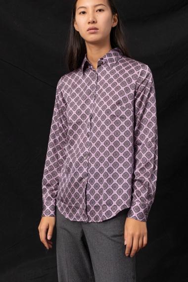 Lilac shirt for woman CAMICETTASNOB F/W 21-22
