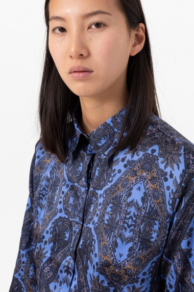 Floral shirt for woman CAMICETTASNOB F/W 21-22