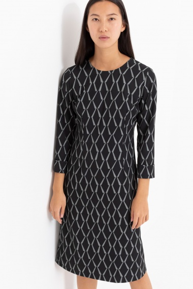 Black dress for woman CAMICETTASNOB F/W 21-22