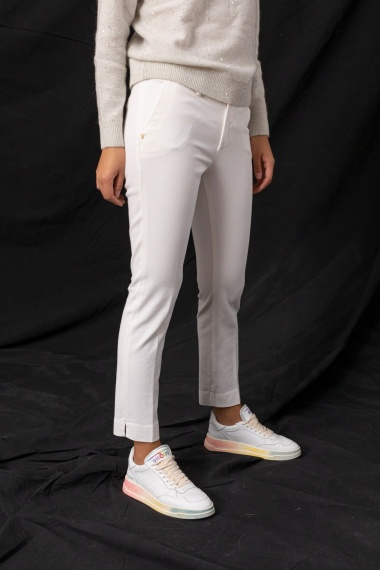 White trousers for woman RE-HASH F/W 21-22