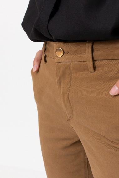 Camel trousers for woman RE-HASH F/W 21-22