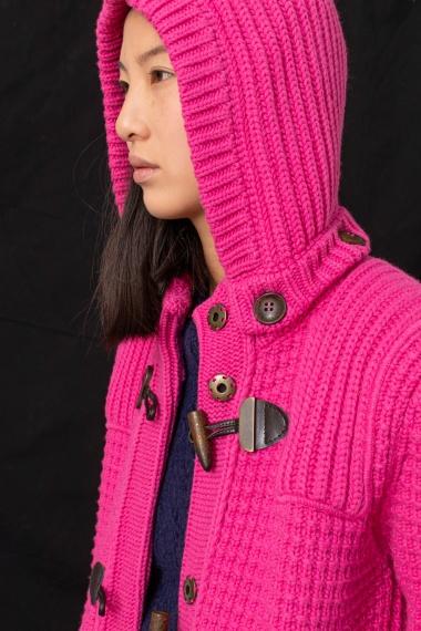 Fucsia jacket for woman BARK F/W 21-22