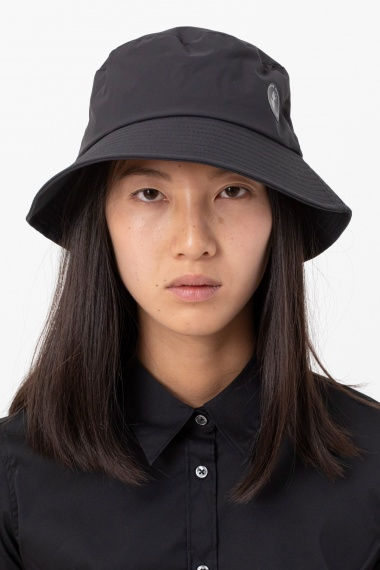 Dark grey cap for woman SAVE THE DUCK F/W 21-22