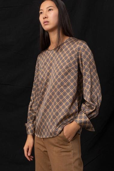 Beige blusa for woman CAMICETTASNOB F/W 21-22