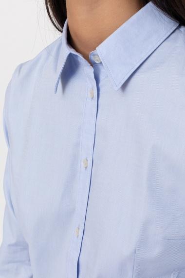 Light blue shirt for woman CAMICETTASNOB F/W 21-22