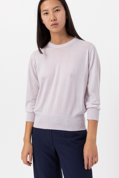 White pullover for woman ALPHA F/W 21-22