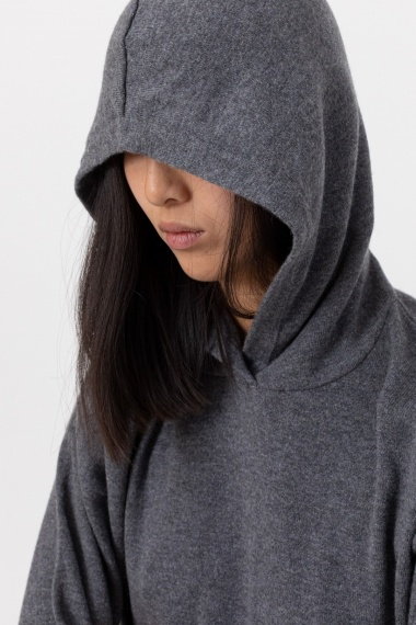 Grey sweatshirt for woman ALPHA F/W 21-22