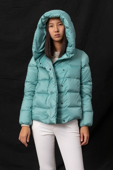 Water green down jacket for woman PEUTEREY F/W 21-22