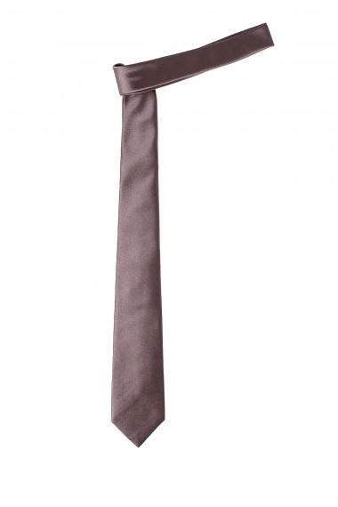 RIONE FONTANA Cravatta marron glacé primavera estate