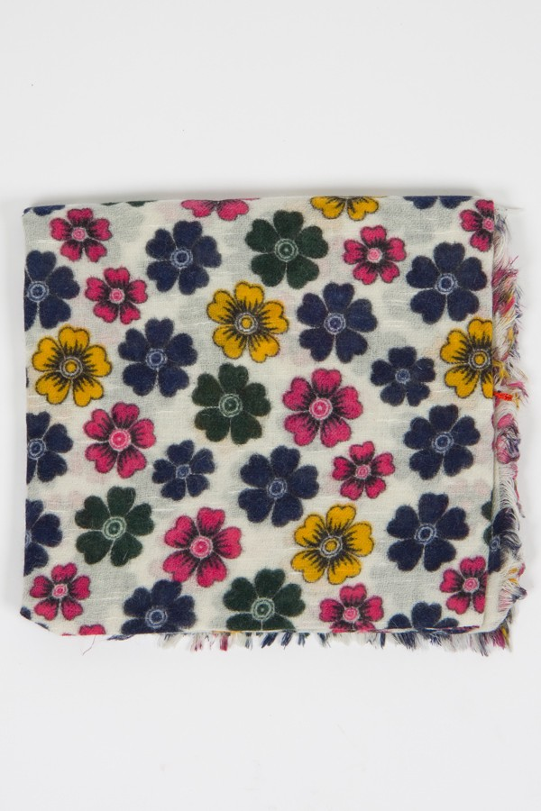 l'ultimo 5f7f3 3b0d4 Camerucci sciarpa flowers - Rione Fontana