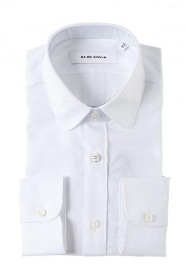 MAURO GRIFONI Camicia bianca per uomo quattro stagioni