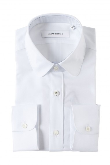 MAURO GRIFONI White shirt for man four season