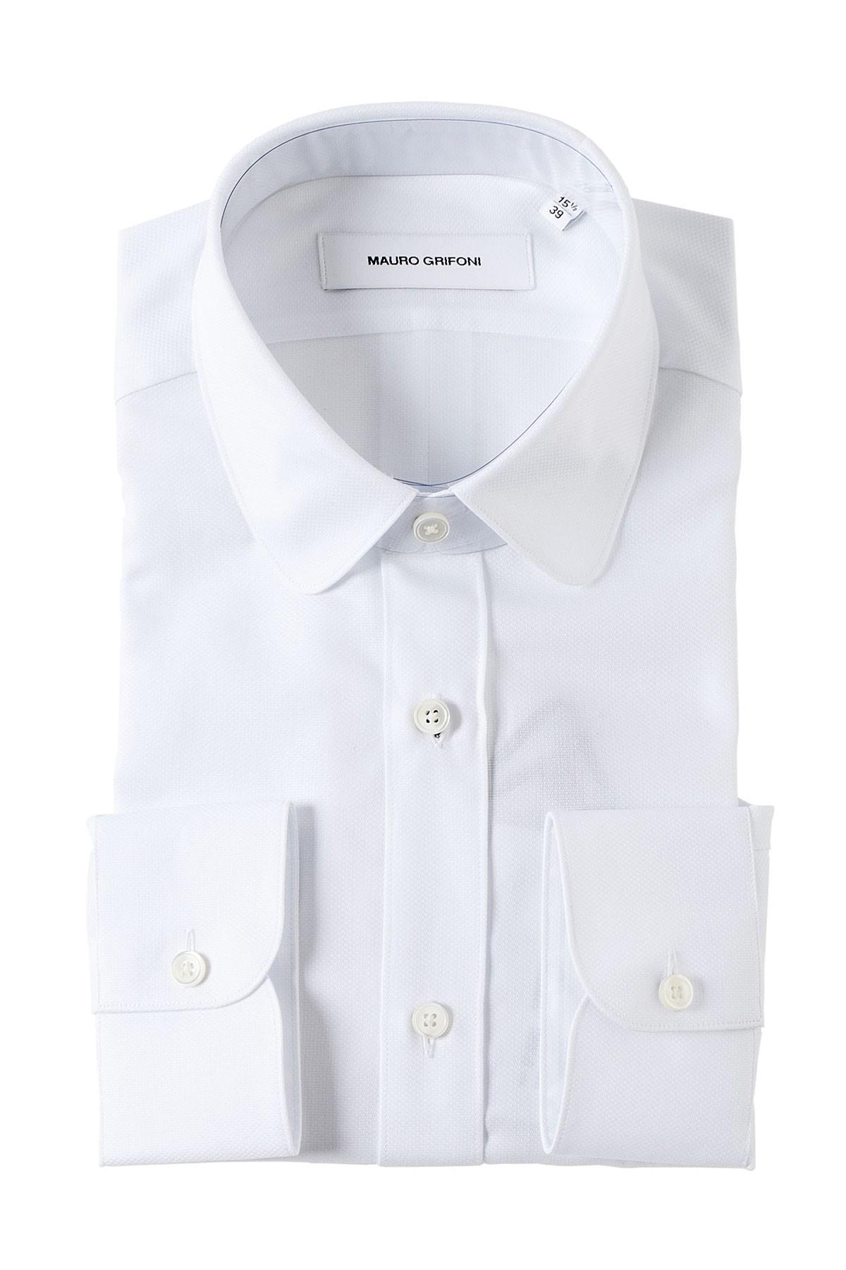 MAURO GRIFONI White shirt for man four season