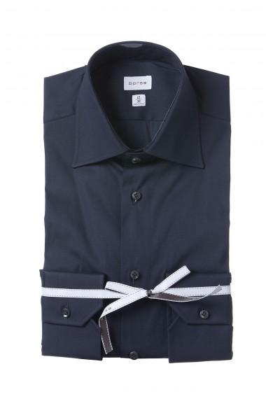 BORSA Dark blue shirt for man spring summer
