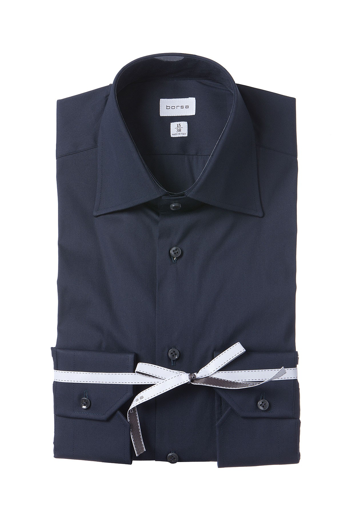 8176b87ea4c BORSA Dark blue shirt for man spring summer