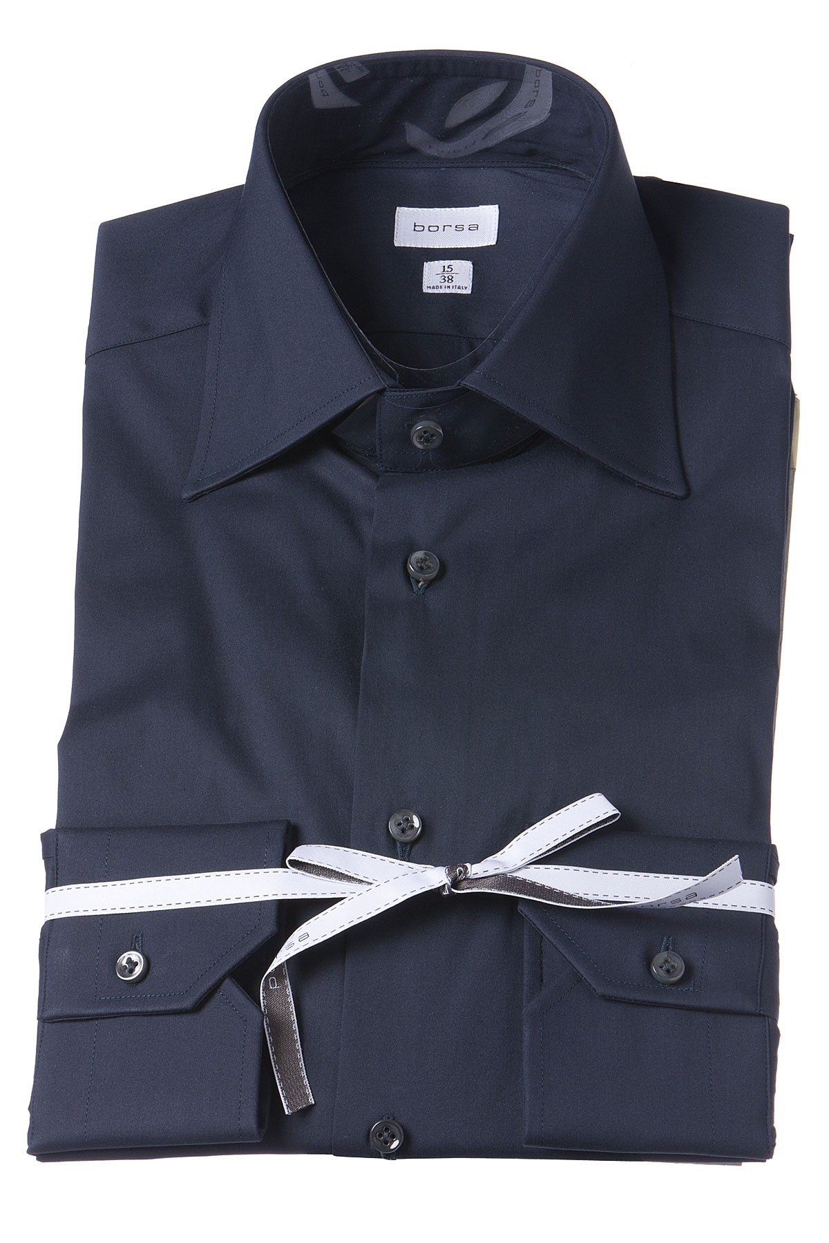 BORSA Dark blue shirt for man