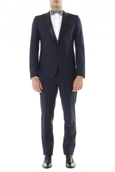 BRIAN DALES Blue suit for men spring summer