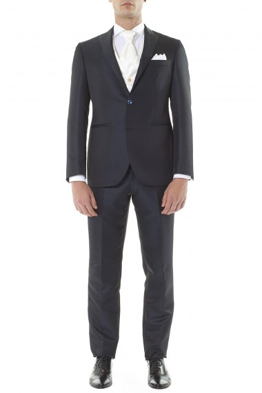 RIONE FONTANA Blue suit for man