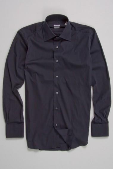 BORSA Camicia blu stretch per Uomo.