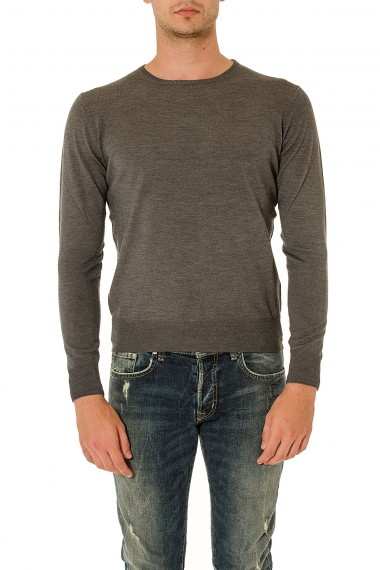 RIONE FONTANA Mud crew neck sweater for men autumn winter 14-15