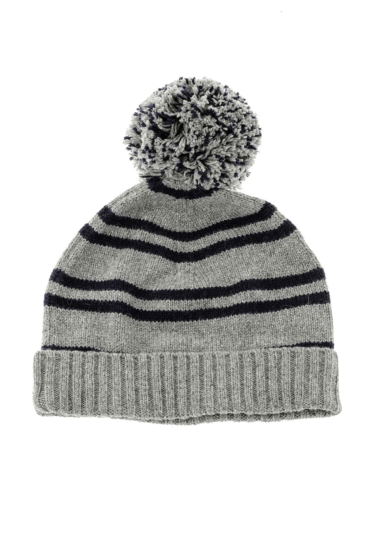 db423a7f3bc SUN68 Grey striped hat for man autumn winter 14-15 - Rione Fontana