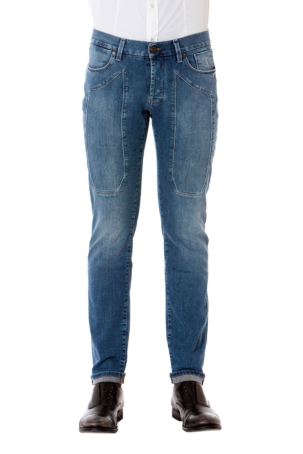 df6f647bfc414 JECKERSON Denim with five pockets for man autumn winter 14-15 ...