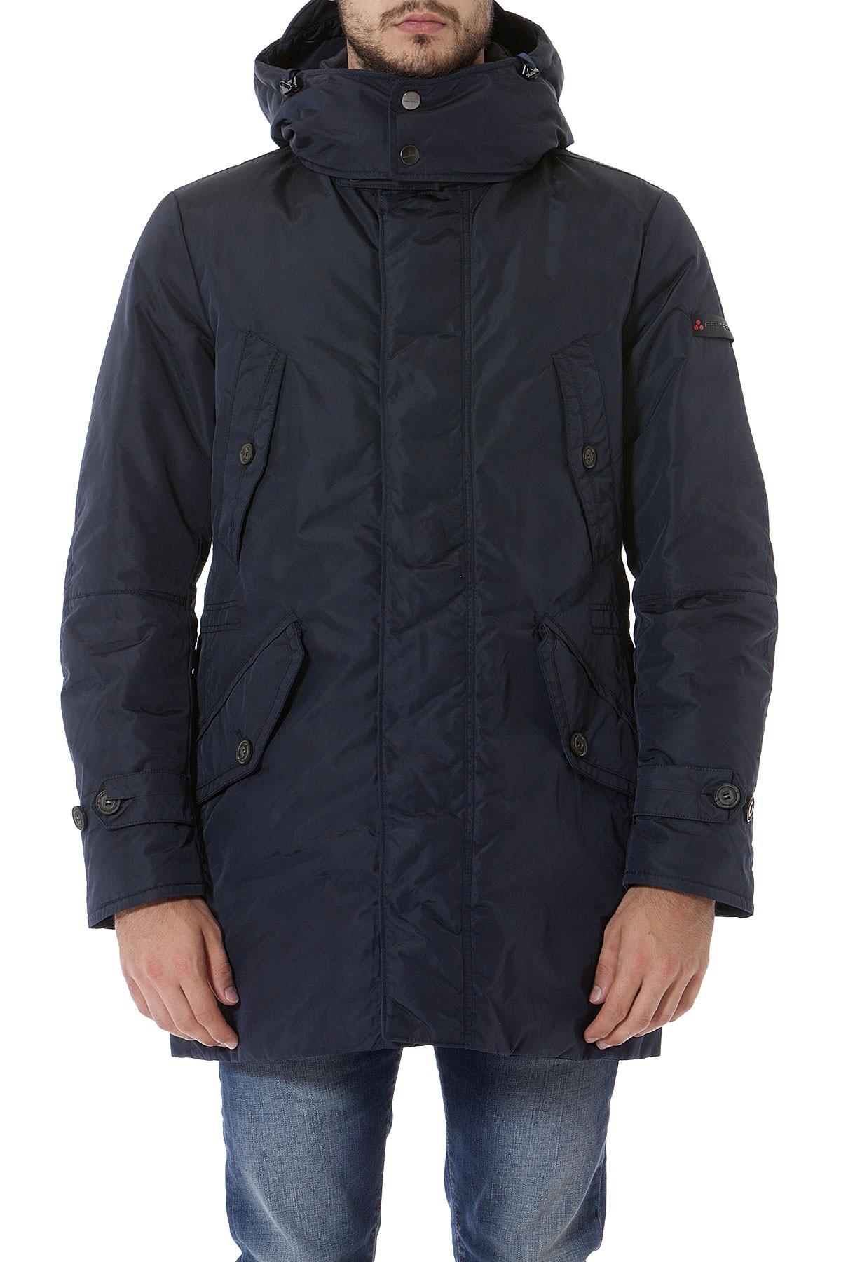 buy online c9a11 cd8de PEUTEREY Blue jacket for man autumn winter 14-15