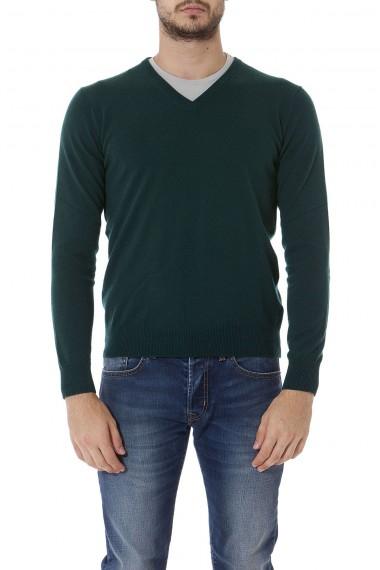 RIONE FONTANA Maglione verde per uomo autunno inverno 14-15