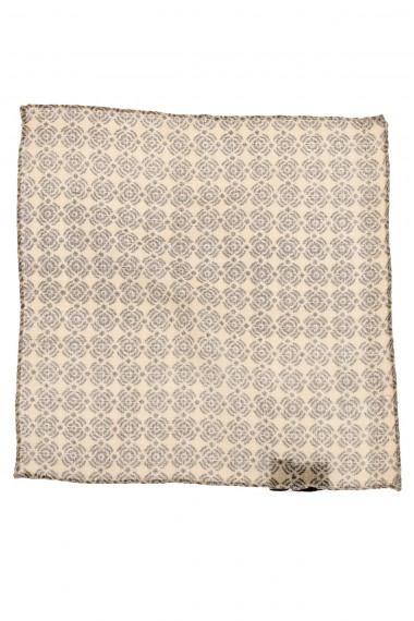 Pochette fantasia in lana per uomo ELEVENTY